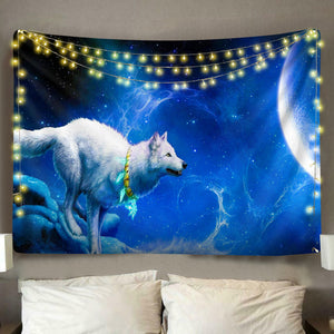 Space Wolf Tapestry