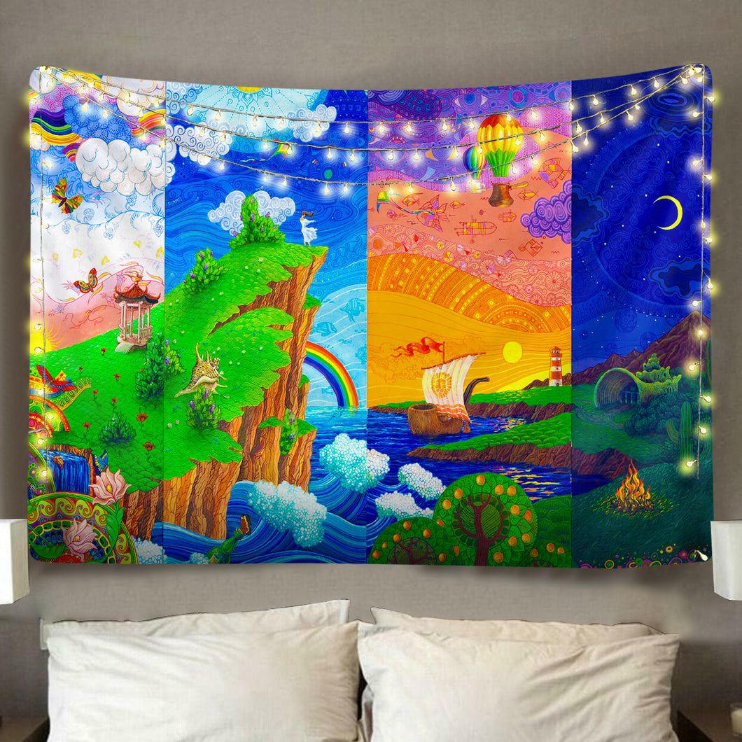 Night And Day Tapestry