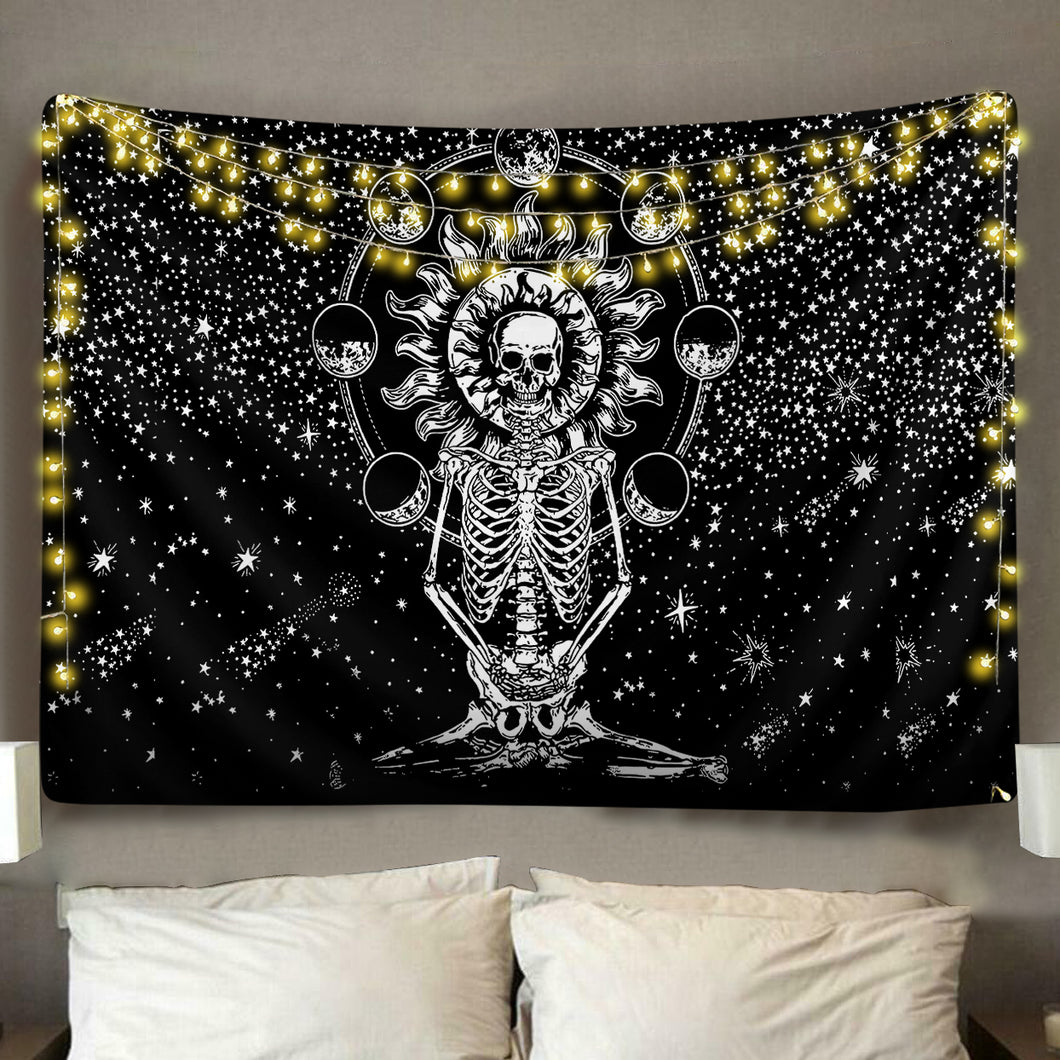 Skeleton Phases Tapestry