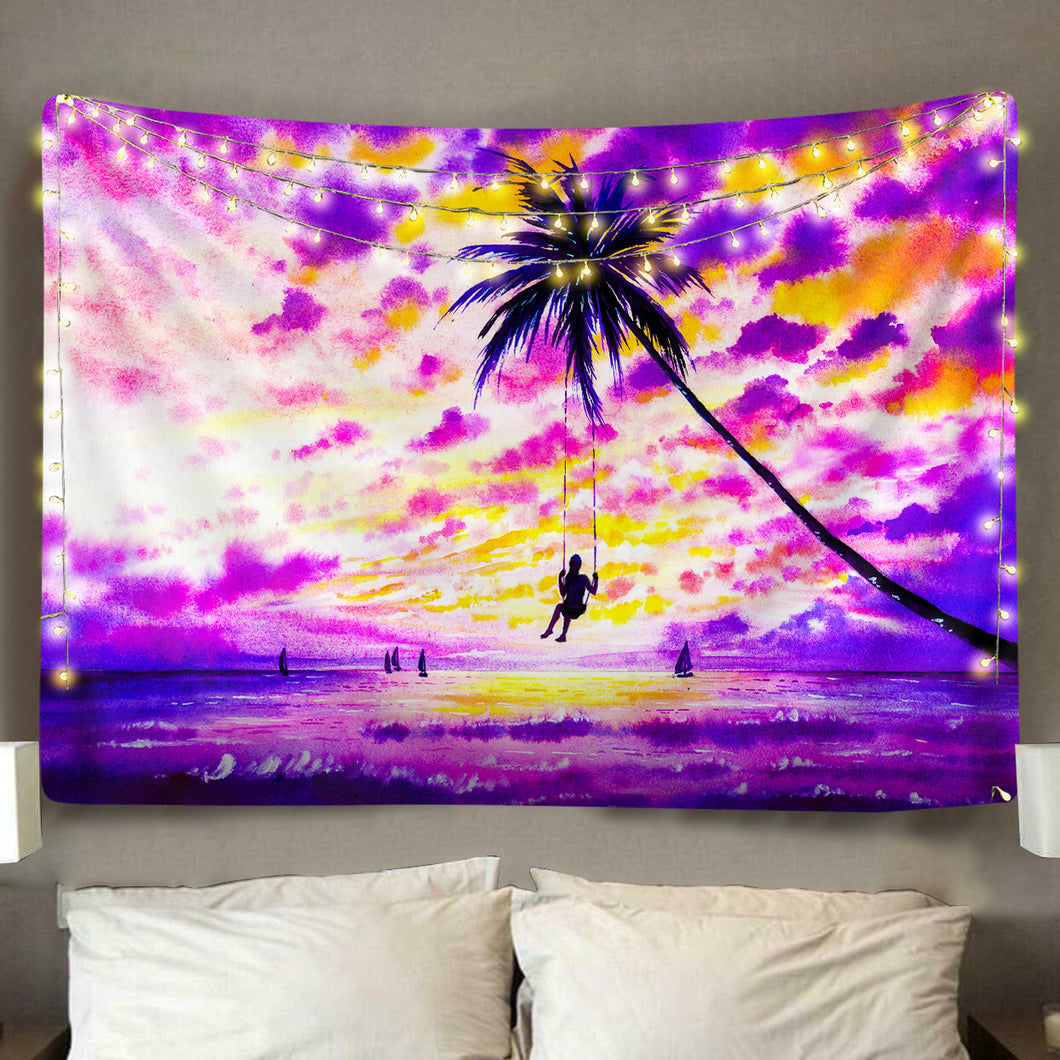 Serenity Sunset Tapestry