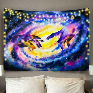 Touch of God Tapestry