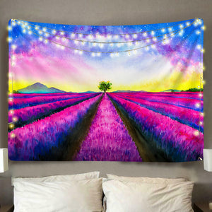 Sunset Field Tapestry