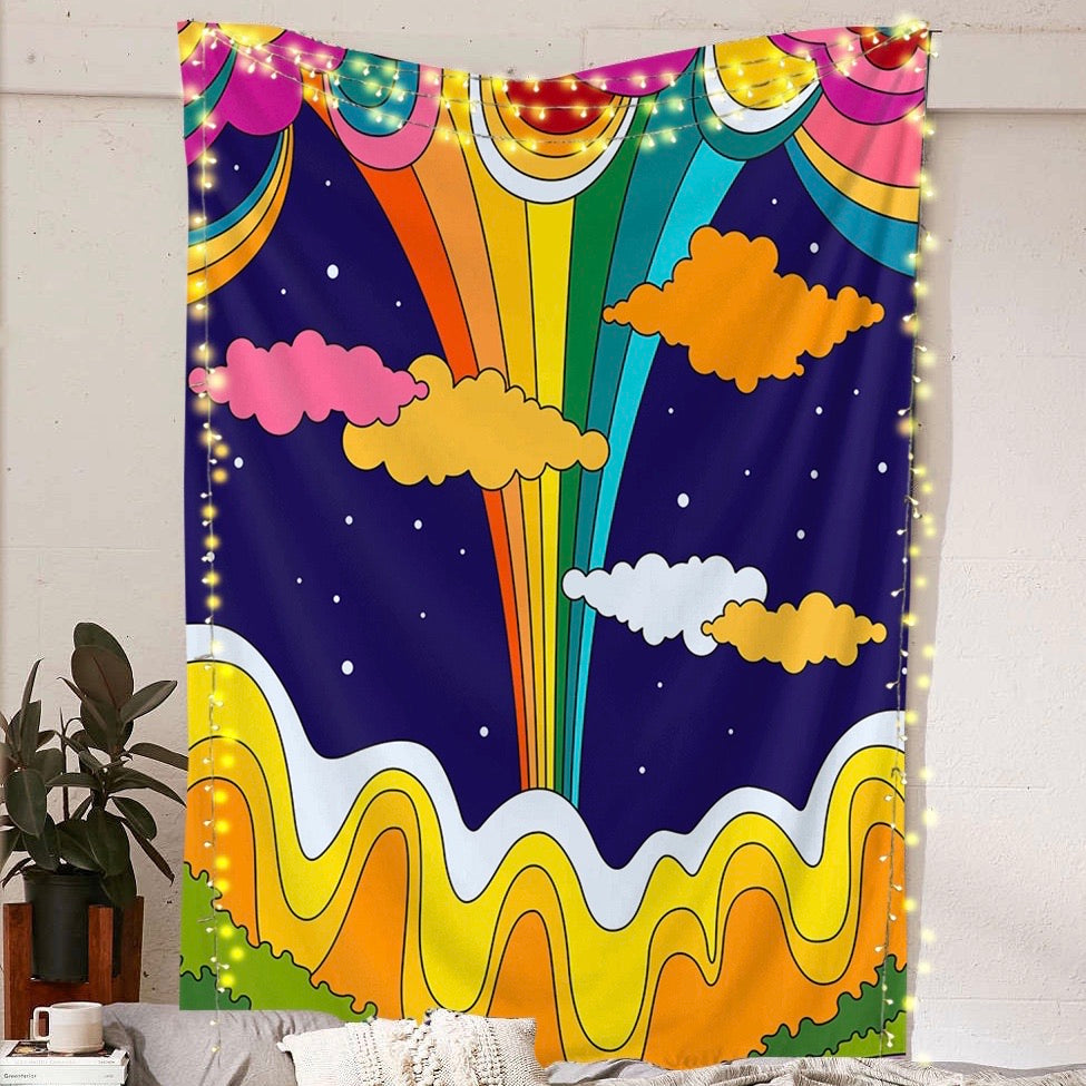 Rainbow Valley Tapestry