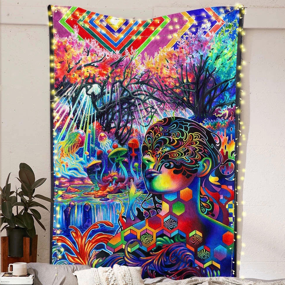 Tryptamine Dreams Tapestry