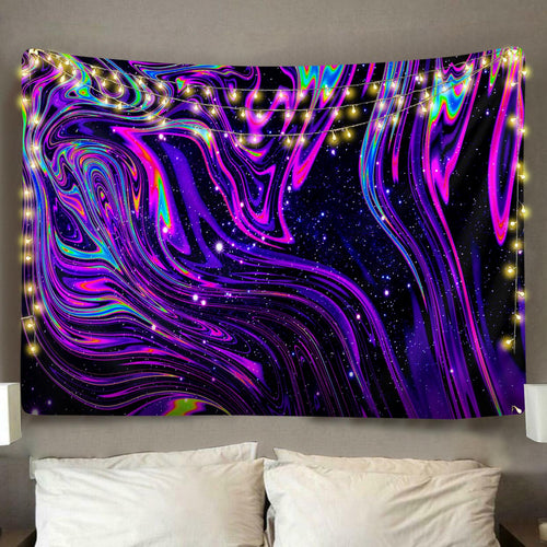Purple Slushy Tapestry