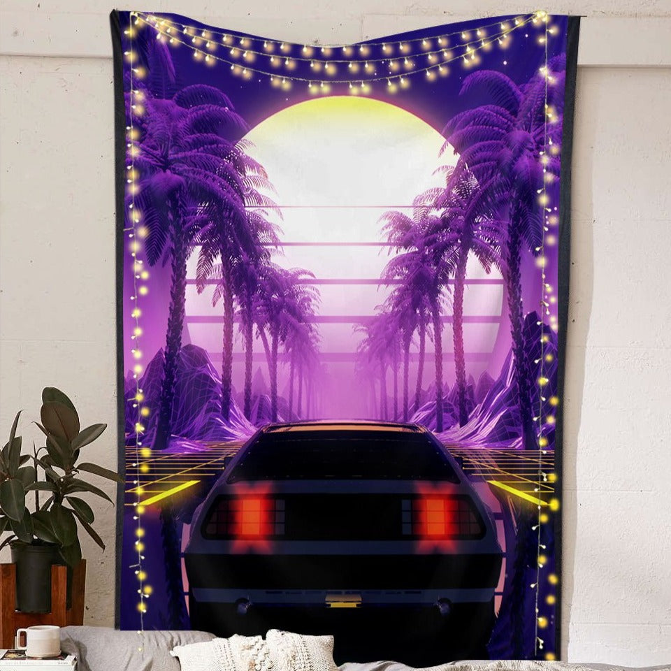 Tropical Outrun Tapestry