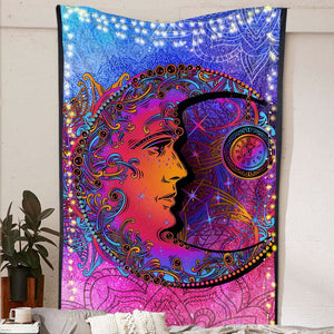Peaceful Moon Tapestry