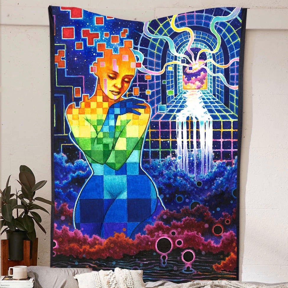 The Source Tapestry