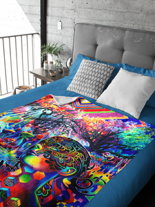 Tryptamine Dream Blanket