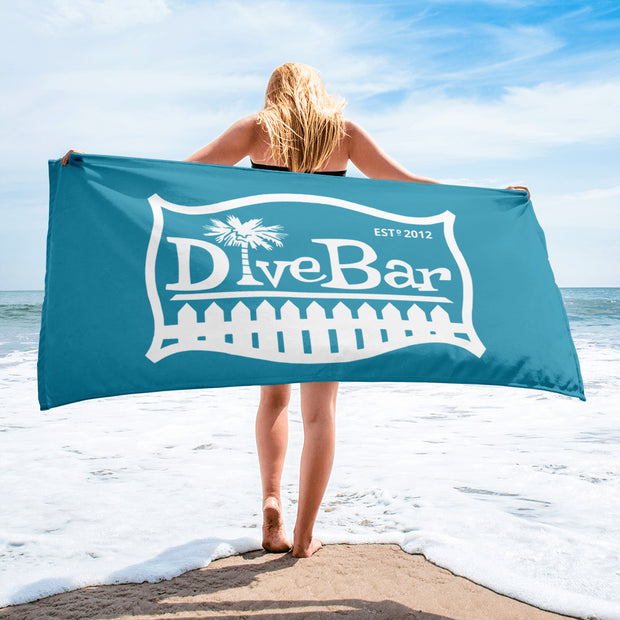 Dive Bar Towel - Marine Blue