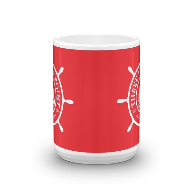 Three Tree Point Mug - Red