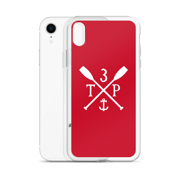 3TP Oars iPhone Case - Red