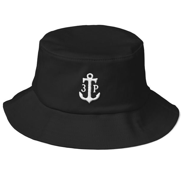 3TP Anchor Old School Flexfit Bucket Hat