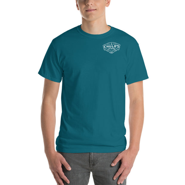 Chulo's Cantina Men's Cotton Classic Fit Short-Sleeve T-Shirt