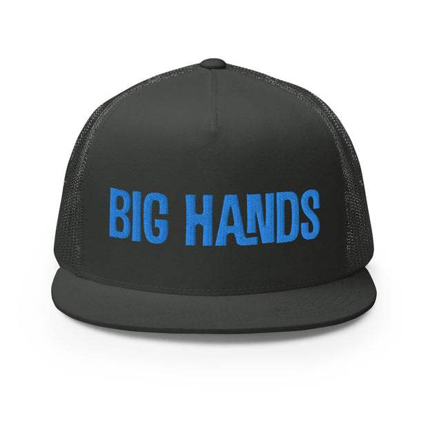 Big Hands Anchor Embroidered Trucker Cap