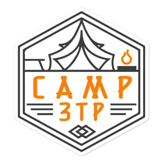 Camp 3TP Bubble-free stickers