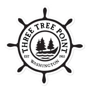 Three Tree Point Bubble-free stickers