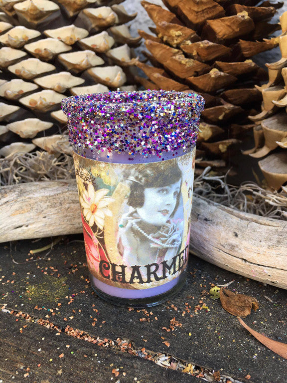 Rita's Charmed Ritual Candles - Attract People, Find Delight and Joy, Mark Yourself with Good Fortune