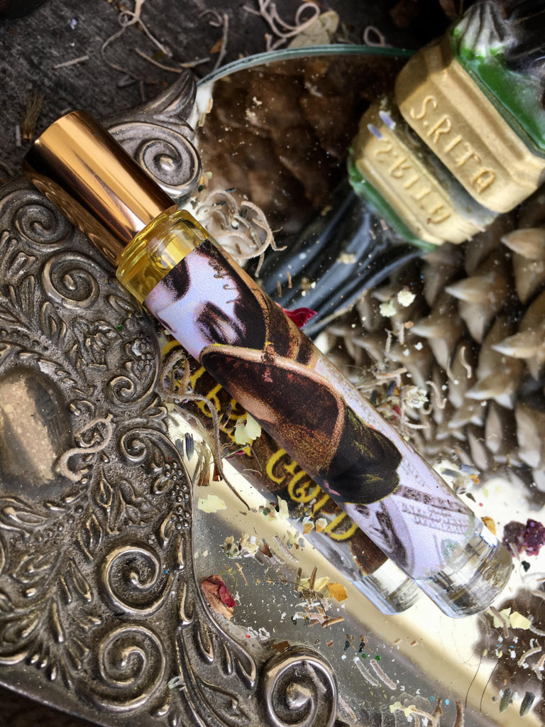 Rita's Apothefairie™ Gypsy Gold Ritual Perfume Oil, Pagan, Magic