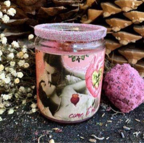 Rita's Come to Me 2 Day Hoodoo Ritual Candle - Entice the Luvers You Wish to Come Close - Pagan, Hoodoo, Witchcraft