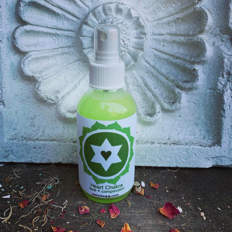 Rita's Heart Chakra Spiritual Mist Spray - Compassion, Bonding, Love, Respect, Kindness