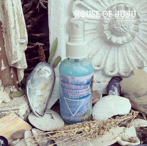 Rita's SeaWitch Ocean Mist Spray - Open Your Emotions, Give Birth to Your Ideas, Feel Close to Your Ebb and Flow