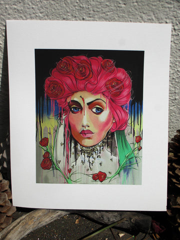 Saint Rita LIMITED EDITION signed and numbered Giclée Print