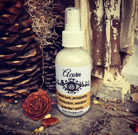 Rita's Acorn Spiritual Mist Spray - Good Luck, Prosperity, Protection, Wisdom, Power, Guardian Spirits