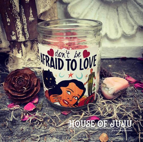 Rita's Light Setting Hoodoo 2 Day Ritual -  Don't Be Afraid to Love Me to Break the Fear of Love, Release a Jaded Past, Draw a Lover Near Without Hesitation