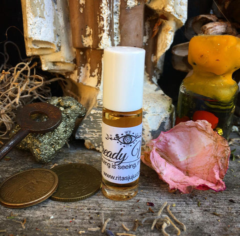 Rita's Already Mine Hand Brewed Ritual Oil - Believing is Seeing, Laws of Attraction, Manifest Wishes