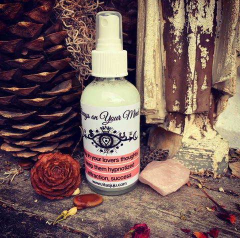 Rita's Always on Your Mind Spiritual Mist Spray - Attraction, Love, Domination, Attention