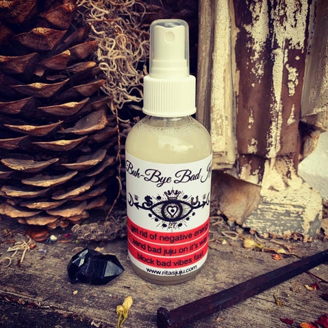 Rita's Buh-Bye Bad Juju Spiritual Mist Spray to Get Rid of Bad Juju NOW