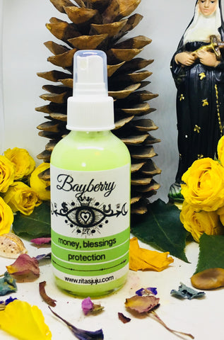 Rita's Bayberry Spiritual Mist Spray for Protection, Money, Blessings