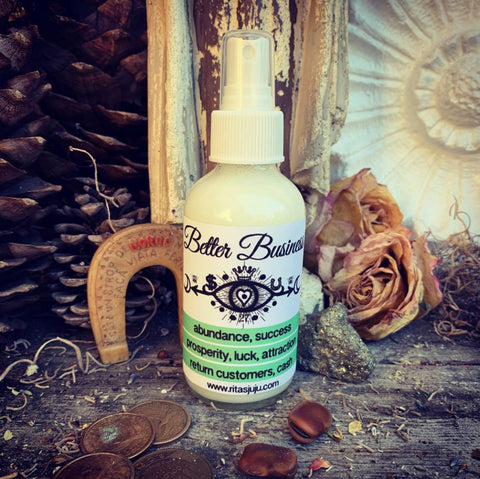 Rita's Better Business Spiritual Mist Spray Perfect for Small Businesses