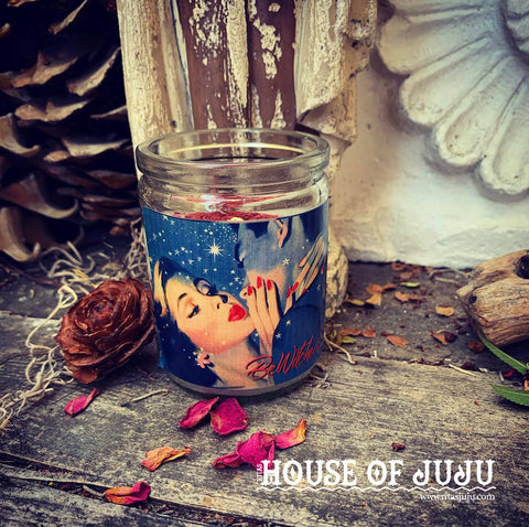 Rita's Bewitched Hoodoo 3 Day Ritual Candle - Cast a Spell on that Special Someone, Enchant Your Lover, Keep Them Interested in Your Charm