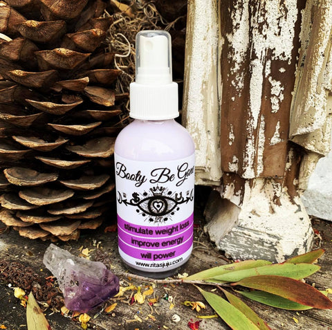 Rita's Booty Be Gone Spiritual Mist Spray - Stimulate Weight Loss, Will Power and Energy
