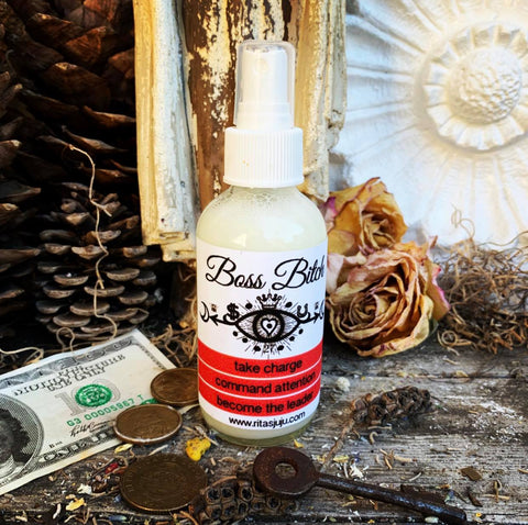 Rita's Boss Bitch Spiritual Mist Spray - Take Charge, Command Attention, Get Paid Like a Man