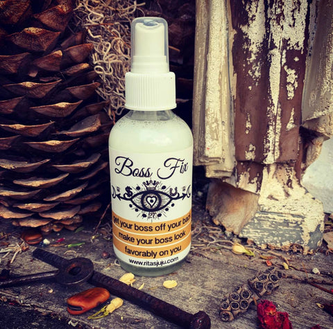 Rita's Boss Fix Spiritual Mist Spray - Make Your Boss Look Favorably On You, Get Your Boss Off Your Back,