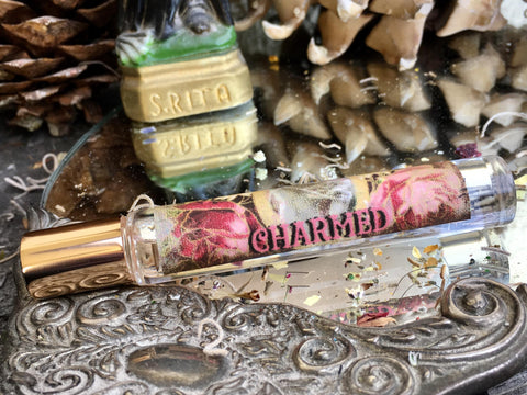 Rita's Apothefairie™ Charmed Ritual Perfume Oil - Attract People, Find Delight and Joy, Mark Yourself with Good Fortune