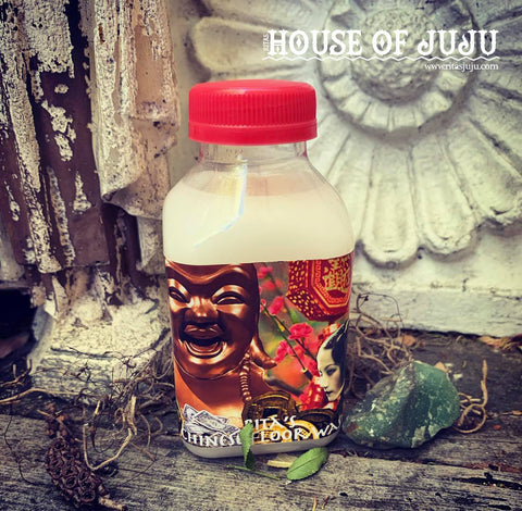 Rita's Chinese Floor Hoodoo Floor Wash - Peace, Prosperity for the Home or Business - Hoodoo, Witchcraft, Pagan