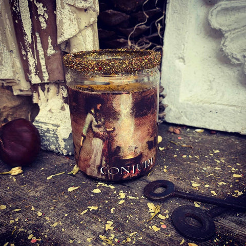 Rita's Witches Conjure Ritual 2 Day Candle - Attraction, Manifest Desires, Call Upon Spirits to Grant Wishes, Create Your Best Life