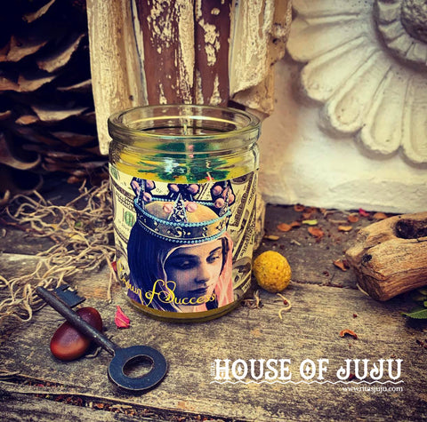 Rita's Crown of Success 7 Day Hoodoo Ritual Candle - Get the Recognition You Deserve, Succeed and Achieve