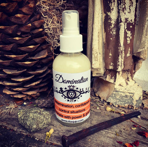 Rita's Domination Spiritual Mist Spray - Control Situations with Power and Grace, Dominate Daily Situations, Determination, Confidence