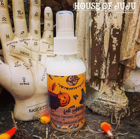 Rita's Fall Sabbitual™ Spiritual Mist Spray - Propserous Harvest, Abundance, Good Luck, Giving Thanks, Draw Spirits Near