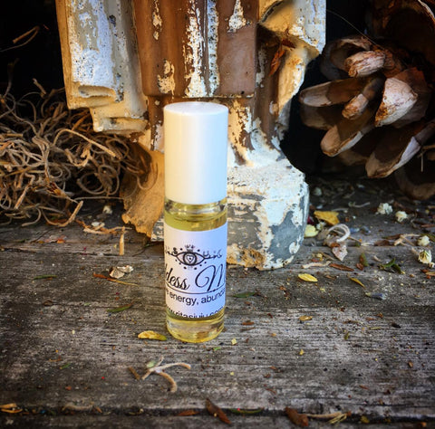 Rita's Goddess Milk Hand Brewed Ritual Oil Charge Yourself with Positive Energy, Abundance, Prosperity