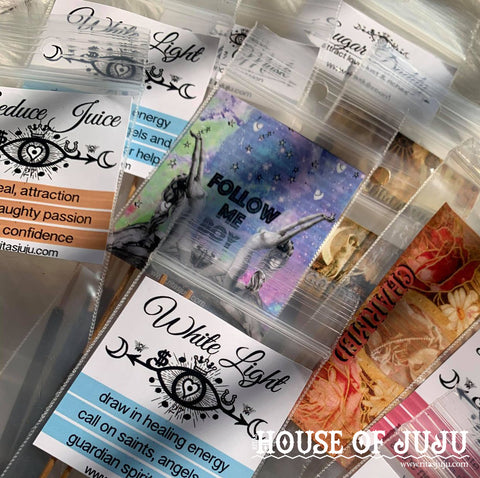Buh Bye Bad Juju Hand Dipped Hoodoo Ritual SAMPLE Incense Sticks, Get Rid of Bad Juju NOW