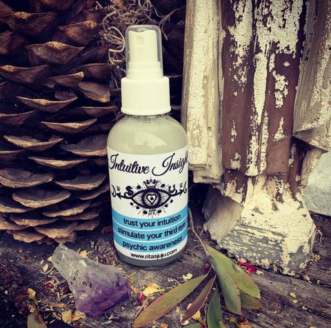 Rita's Intuitive Insight Spiritual Mist Spray - Psychic Awareness, Sharpen Your Insight & Instincts