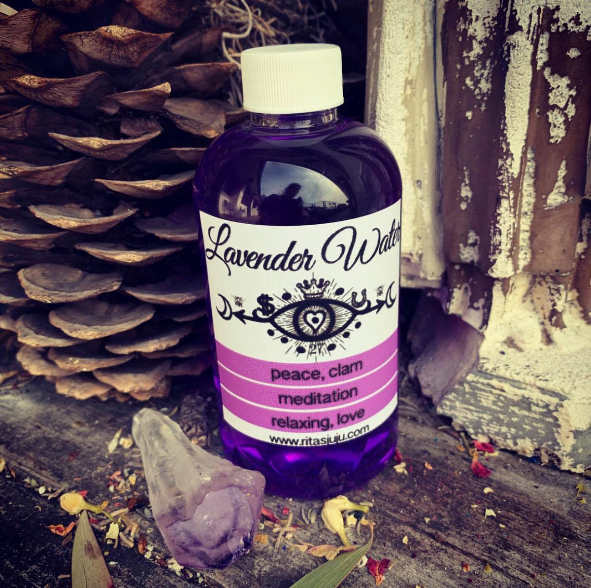 Rita's Lavender Bath and Floor Wash for Peace, Meditation, Calm,  Relaxation, Love