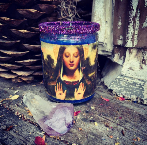 Rita's St. Lucy's Eyes 2 Day Ritual Candle to Open Your Eyes to What You are Blind to See