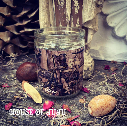 Rita's Marie Laveau 3 Day Hoodoo Ritual Candle - Empower, Command, Conjure, Healing, Banishment and Business Rituals